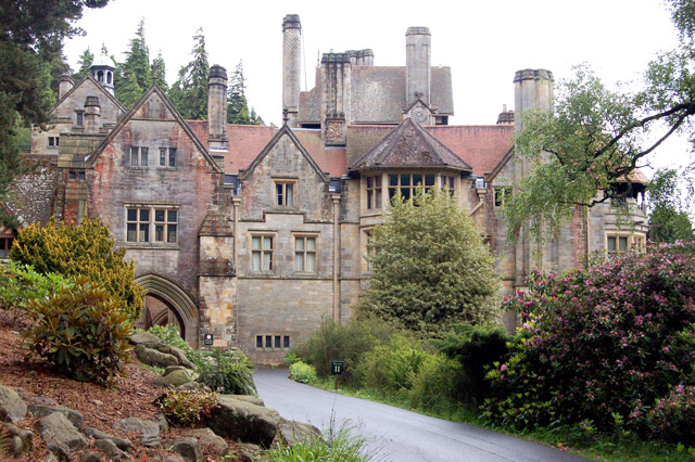 North facade of the house, Cragside