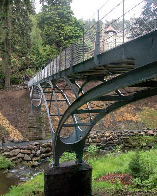 Under the Iron Bridge, Cragside