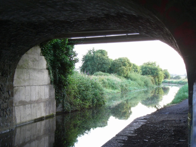 Royal Canal from under Allen Bridge, Kilcock, Co. Kildare