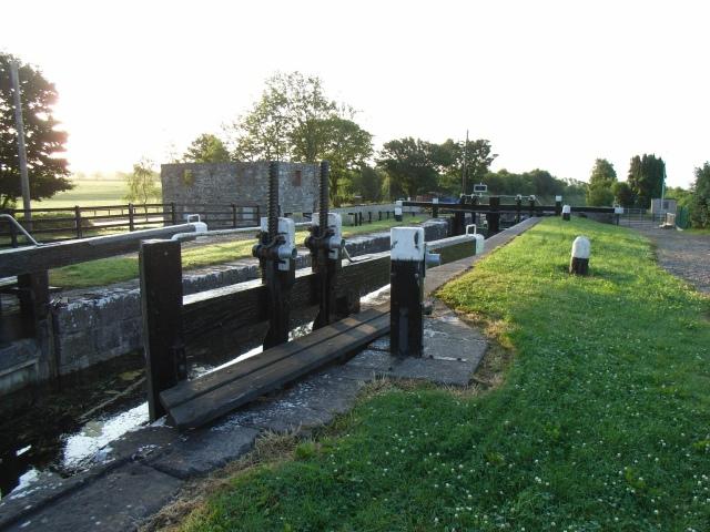 Fern's Lock on the Royal Canal near Kilcock, Co. Kildare