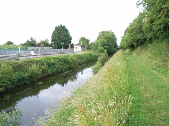 Royal Canal at Enfield Station, Co. Meath