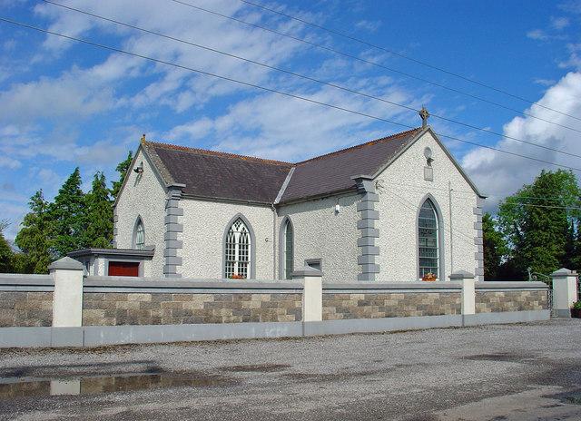 Church near Croghan, Co. Offaly