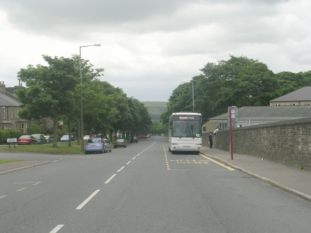 Free School Lane - viewed from Spring Edge South