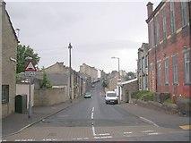 SE0824 : Moorfield Street - Haugh Shaw Road by Betty Longbottom