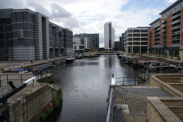 Royal Armouries and Clarence Dock