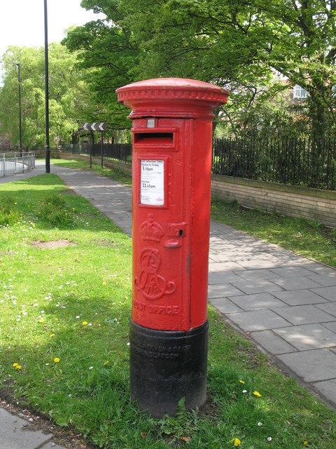 Edward VII postbox, Church Avenue / St. Nicholas Avenue