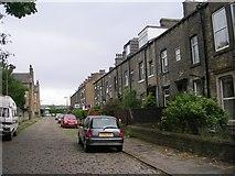 SE0824 : Moorlands View - Free School Lane by Betty Longbottom