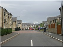 SE0824 : Hastings Way - Free School Lane by Betty Longbottom