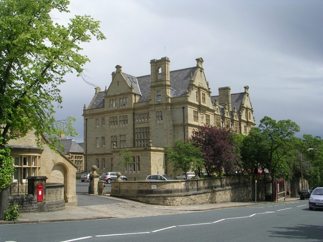 Part of the Halifax Old Royal Infirmary - Free School Lane