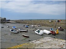 SW5130 : Harbour of St Michael's Mount by Sarah Charlesworth
