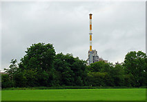 N5742 : Main stack: Kinnegad cement plant, Co. Meath by Dylan Moore