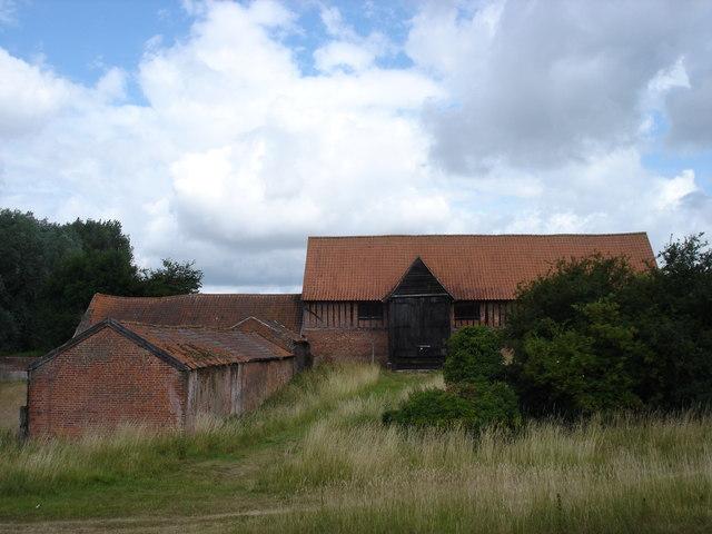 Old barn at Little Wenham