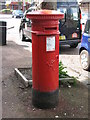 NZ2564 : Victorian postbox, Wretham Place by Mike Quinn