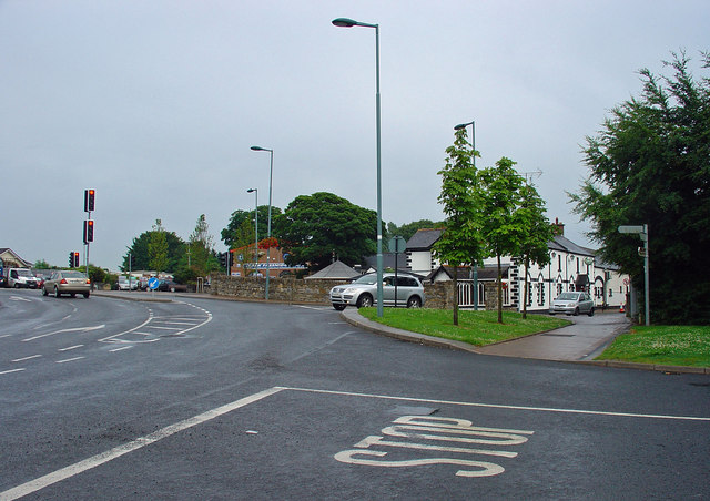 Road junction: Dunsaughlin, Co. Meath