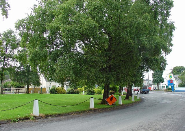 Village green: Summerhill, Co. Meath