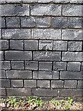 SJ3965 : Bench mark on the viaduct #3 by John S Turner