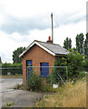 TF6111 : Watlington Station - former goods office by Evelyn Simak