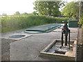 SD9752 : Bog Lane sewage treatment works by Stephen Craven