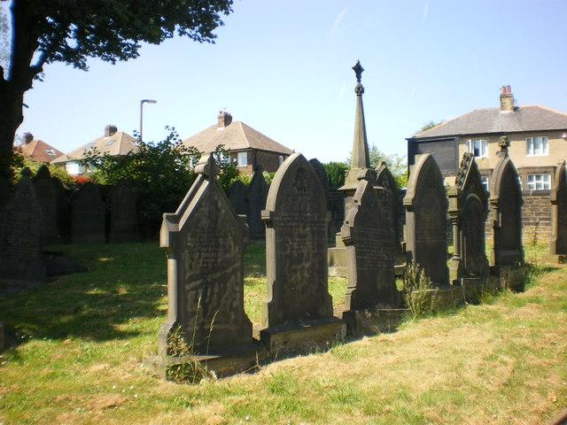 All Saints Parish Church, Halifax, Graveyard