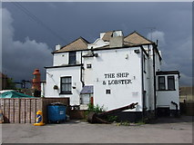 TQ6674 : The Ship & Lobster, Gravesend by Chris Whippet