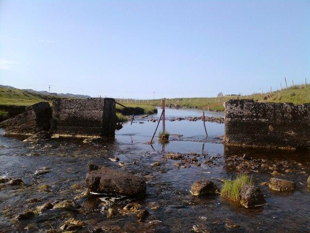 Salmon gates on Kilmartin River