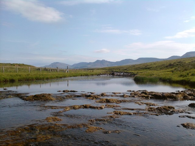 Looking upstream on Kilmartin River