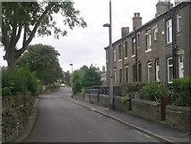 SE1527 : Balme Lane - viewed from Worthing Head Road by Betty Longbottom