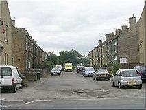SE1527 : Wroe Terrace - Huddersfield Road by Betty Longbottom
