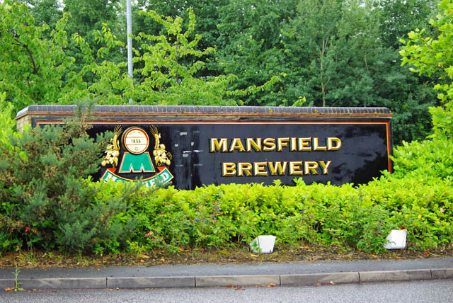 Entrance to Mansfield Brewery