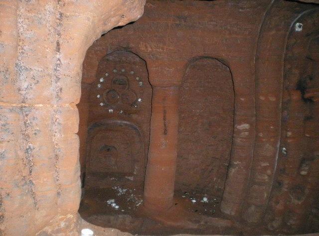 Underground in the Caynton Hall grotto (2)