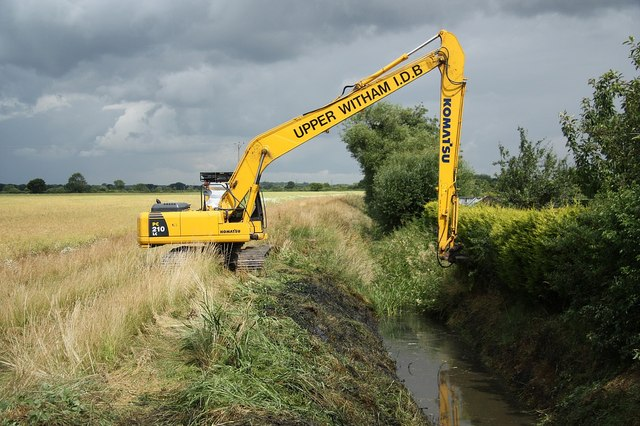 Ox pasture Drain clearance