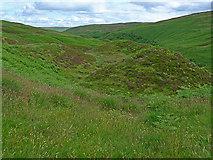 NN7413 : Moorland north of the Corriebeagh Burn by Dr Richard Murray