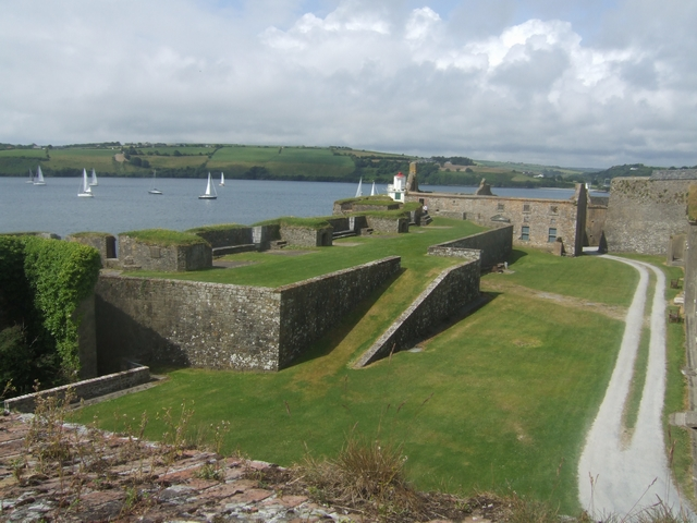 Charles Fort - Kinsale - Battery and Governor's House