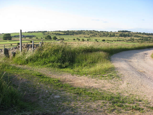 Bonsall Moor - Footpath on the bend
