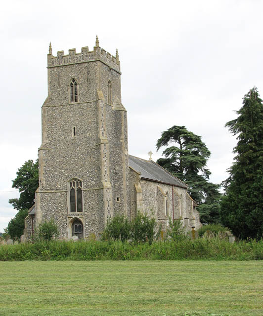 St Mary's church viewed from Church Road