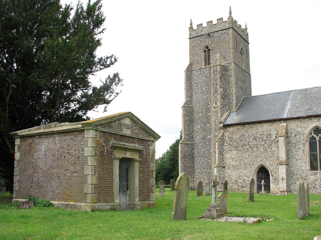 St Mary's church and the Harvey Mausoleum