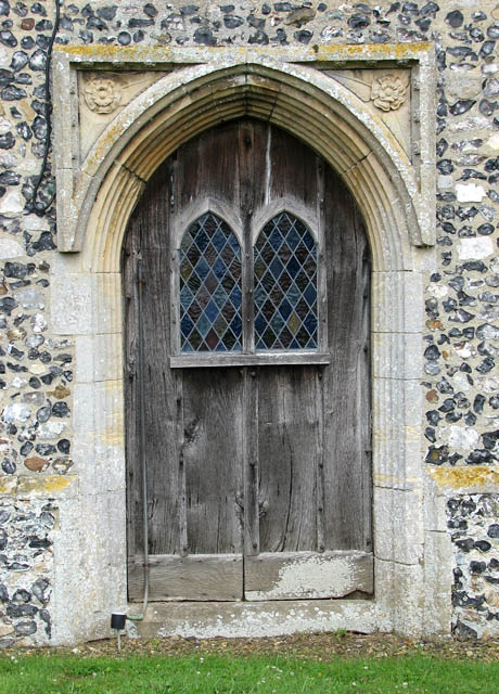 St Mary's church - west doorway