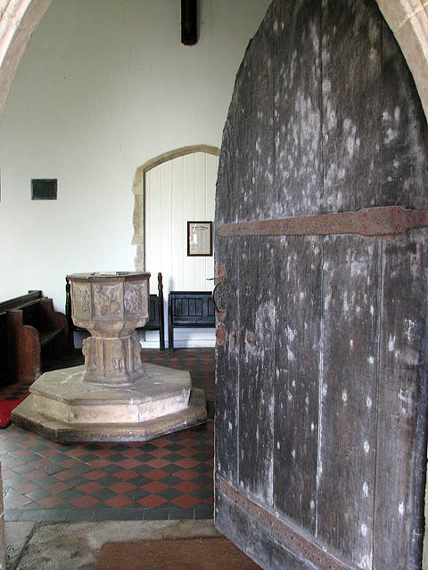 St Mary's church - north doorway