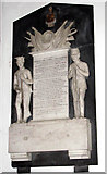 TM1994 : St Mary's church - memorial to General Sir R. Harvey by Evelyn Simak