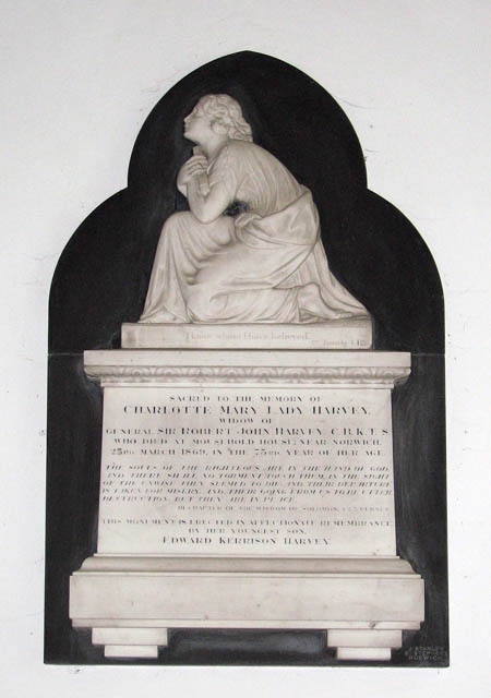St Mary's church - memorial
