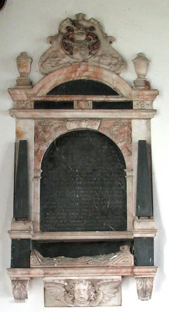 St Mary's church - memorial