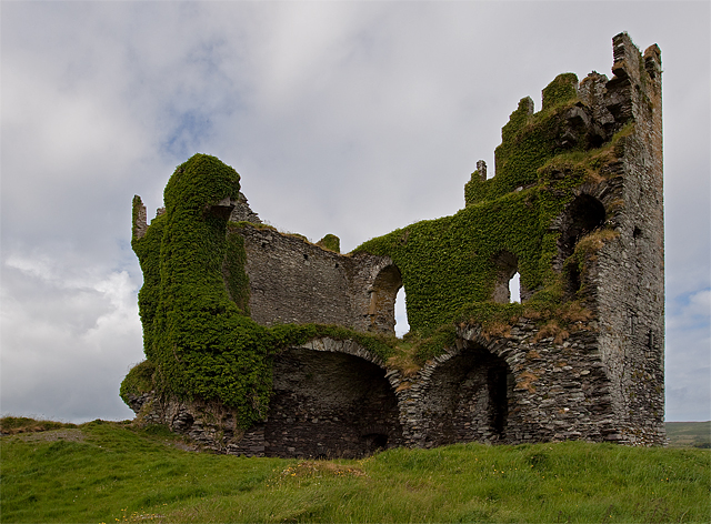 Castles of Munster: Ballycarbery, Kerry (1)