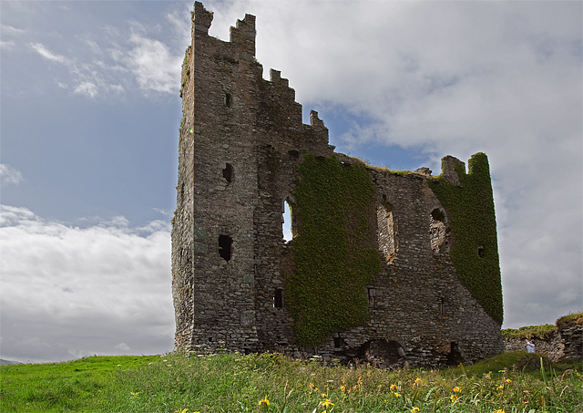 Castles of Munster: Ballycarbery, Kerry (3)