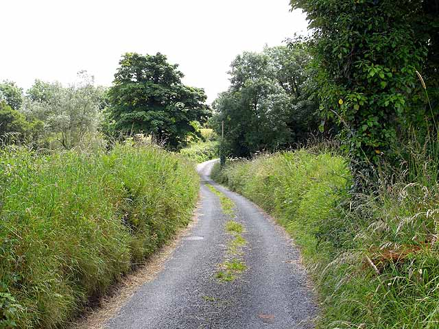 Lane to the south of Aclare