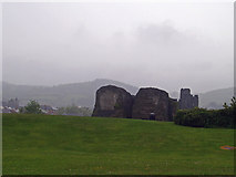 ST1587 : Caerphilly Castle by pennie winkler
