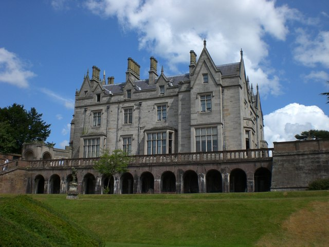 Lilleshall Hall from the South