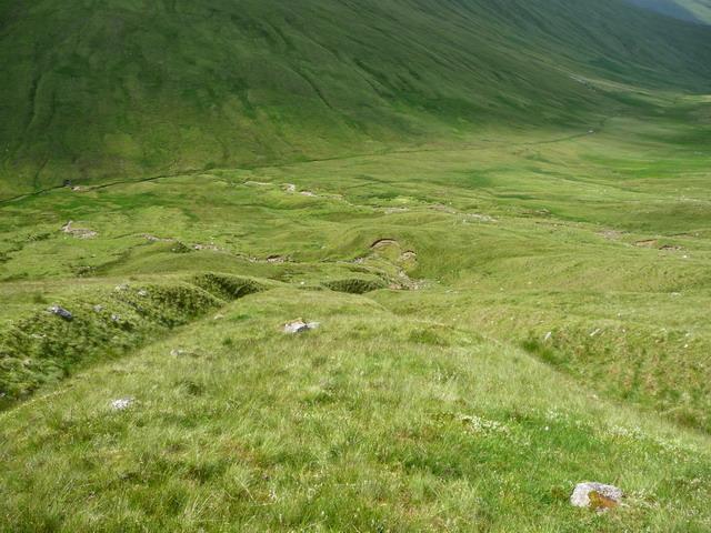 West slopes of Cam Chreag