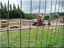 SS9612 : Tiverton : Amory Park - BMX Track Construction by Lewis Clarke