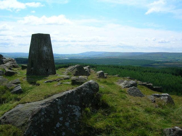 Trig Point on Whelp Stone Crag (1217')