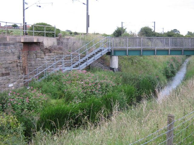 Public Right of Way footbridge